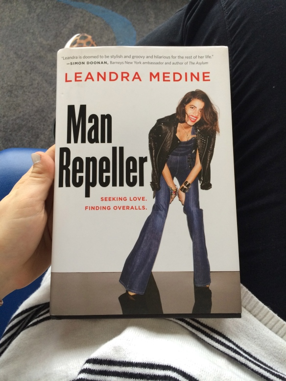 Airplane Reading | Man Repeller by Leandra Medine (check out her blog at manrepeller.com because it is everything)