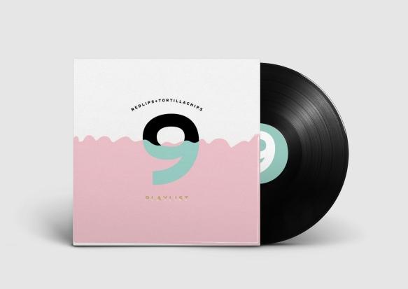 Vinyl Record PSD MockUp