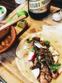 Ribeye tacos